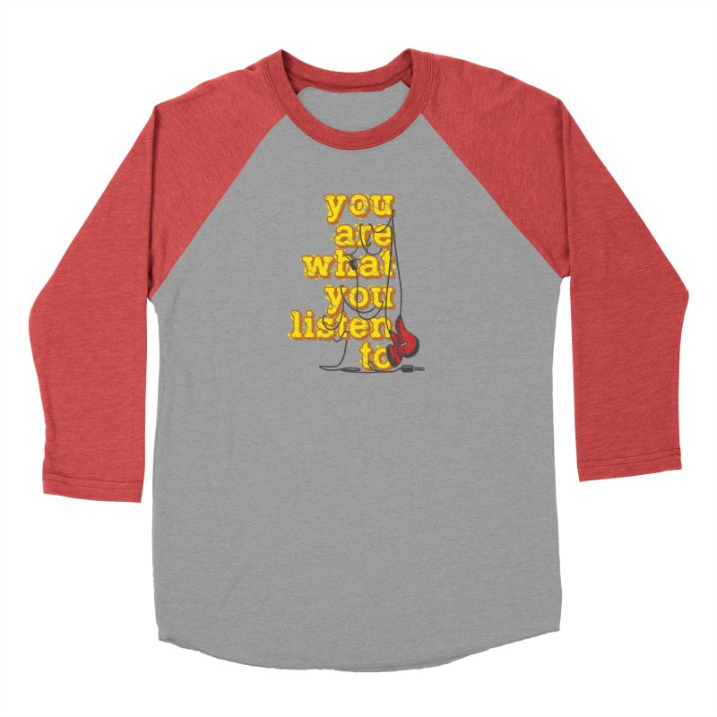 You are what you listen to Women's Longsleeve T-Shirt by JQBX Store - Listen Together