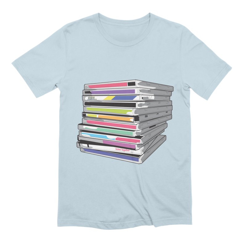 Cd Collection JQBX Men's Extra Soft T-Shirt by JQBX Store - Listen Together