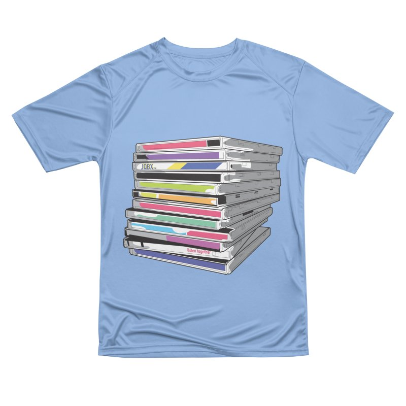 Cd Collection JQBX Men's Performance T-Shirt by JQBX Store - Listen Together