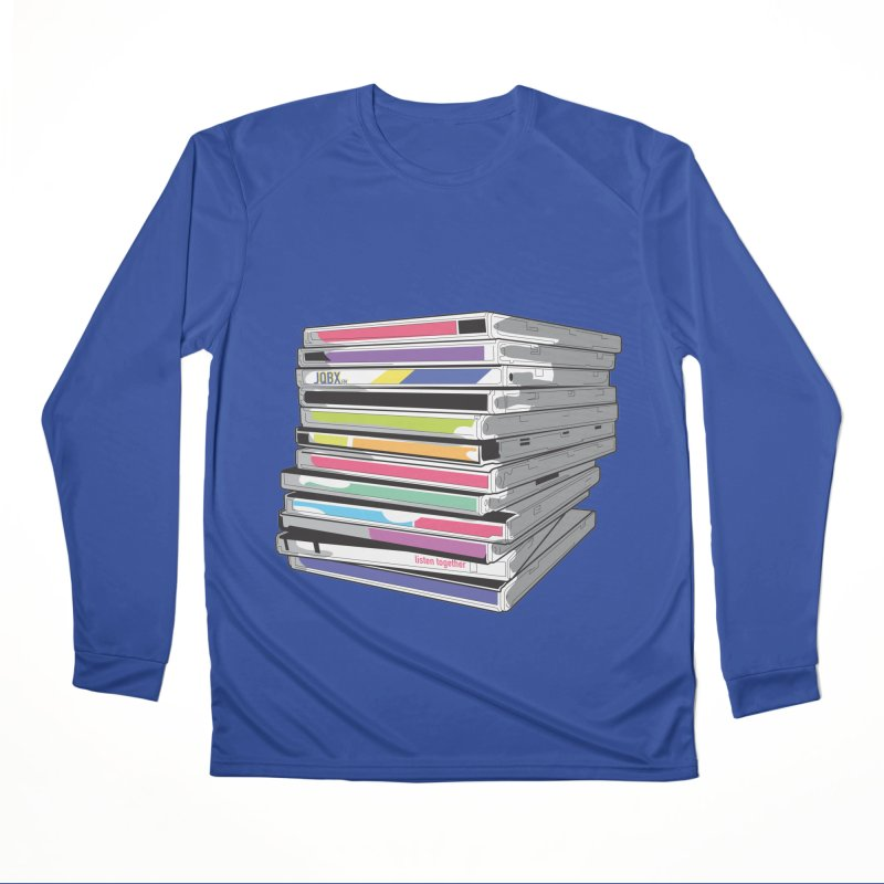 Cd Collection JQBX Women's Performance Unisex Longsleeve T-Shirt by JQBX Store - Listen Together