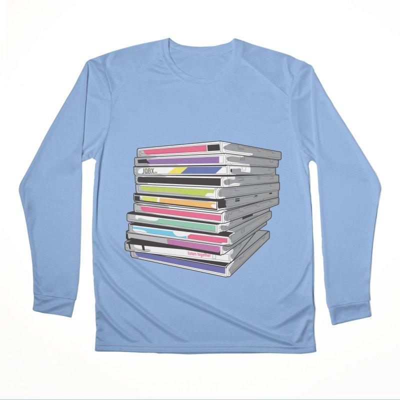 Cd Collection JQBX Women's Longsleeve T-Shirt by JQBX Store - Listen Together