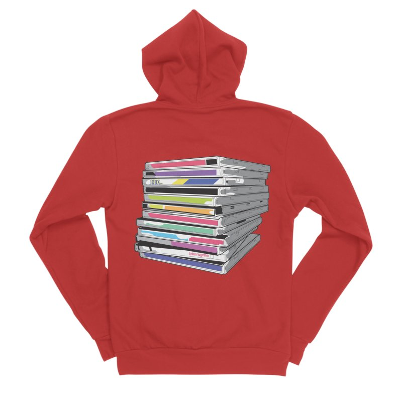 Cd Collection JQBX Men's Zip-Up Hoody by JQBX Store - Listen Together