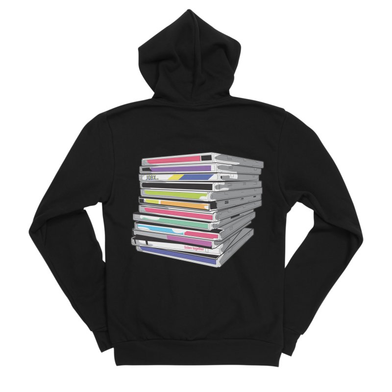 Cd Collection JQBX Men's Sponge Fleece Zip-Up Hoody by JQBX Store - Listen Together