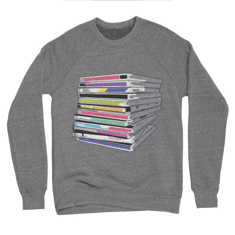 Cd Collection JQBX Women's Sponge Fleece Sweatshirt by JQBX Store - Listen Together