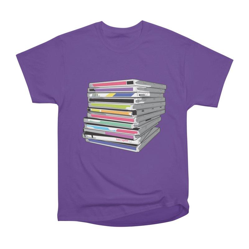 Cd Collection JQBX Women's Heavyweight Unisex T-Shirt by JQBX Store - Listen Together