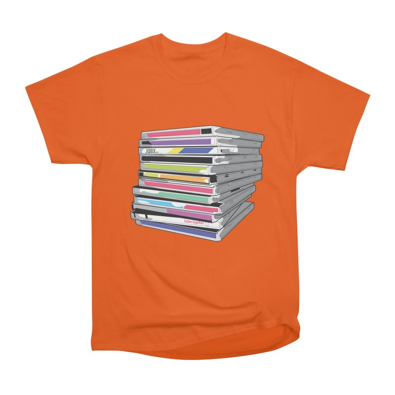 Cd Collection JQBX Men's T-Shirt by JQBX Store - Listen Together
