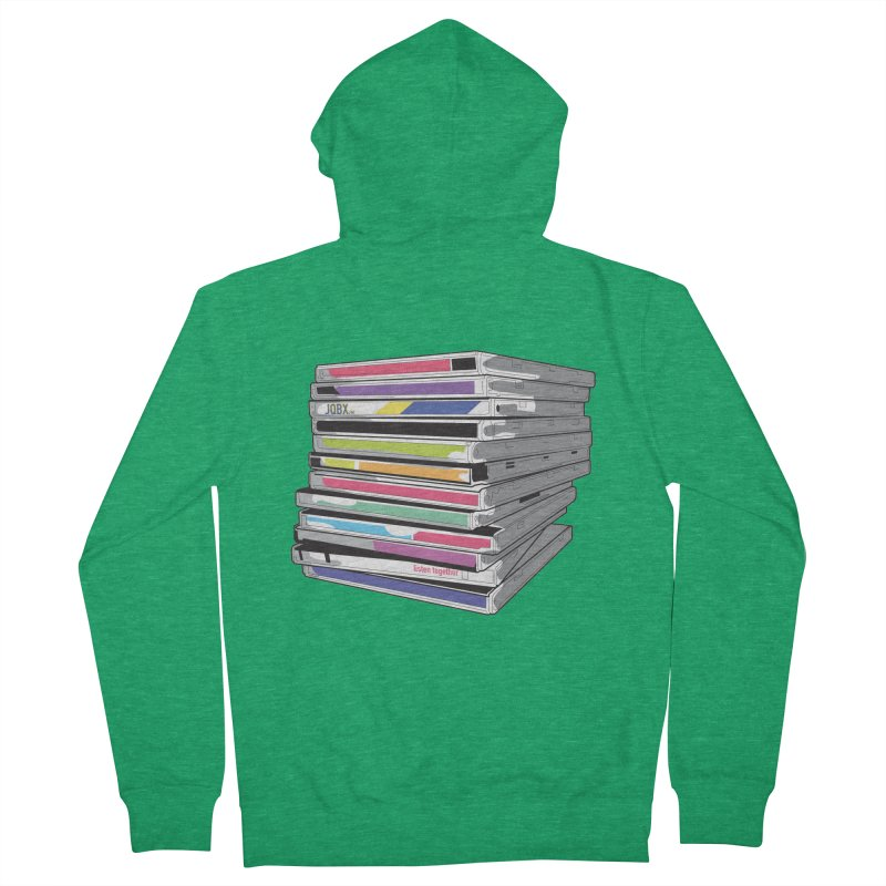 Cd Collection JQBX Men's French Terry Zip-Up Hoody by JQBX Store - Listen Together