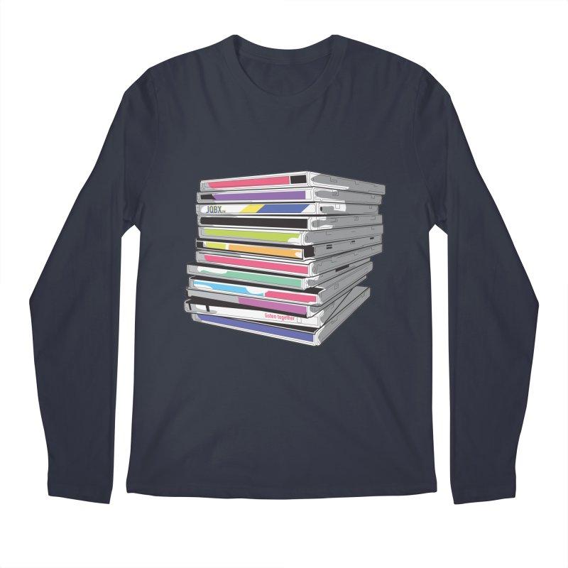 Cd Collection JQBX Men's Regular Longsleeve T-Shirt by JQBX Store - Listen Together