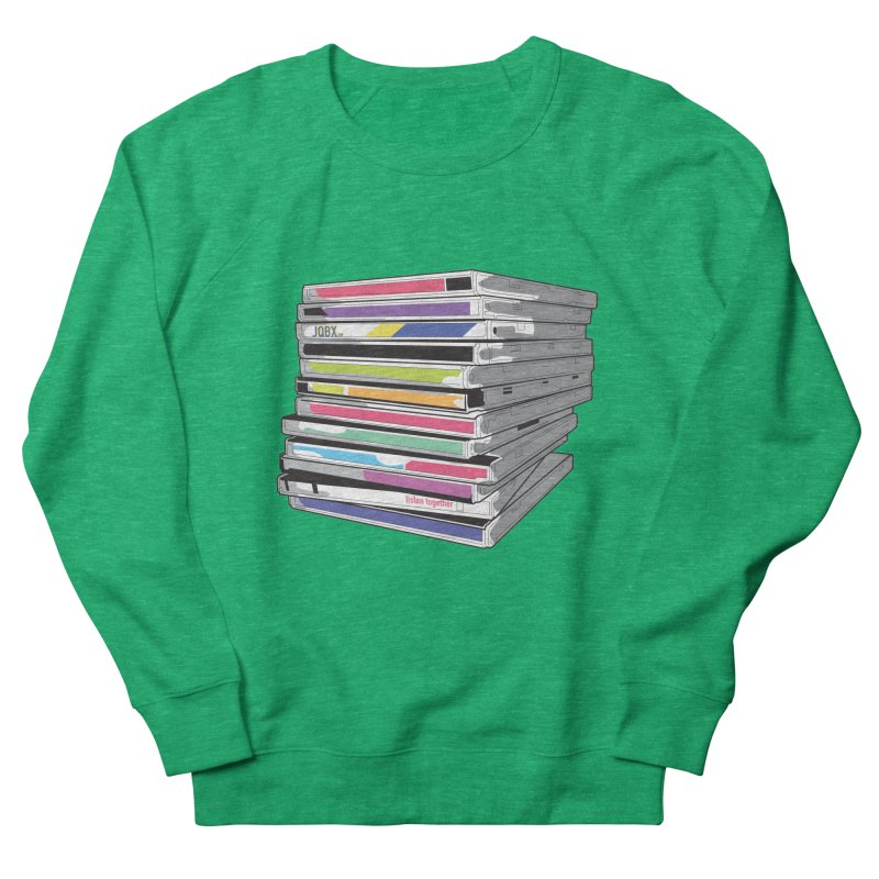 Cd Collection JQBX Women's Sweatshirt by JQBX Store - Listen Together