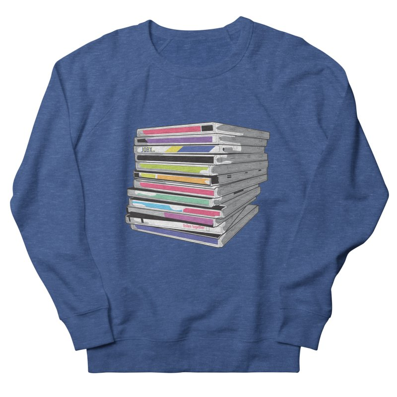 Cd Collection JQBX Men's Sweatshirt by JQBX Store - Listen Together