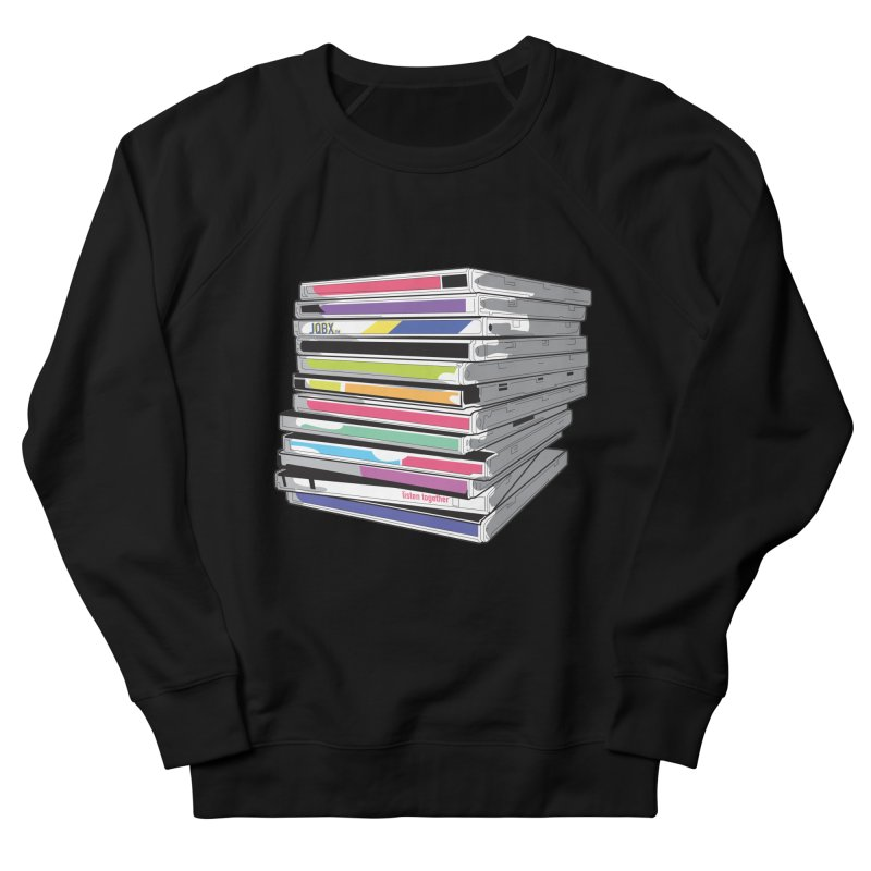 Cd Collection JQBX Men's French Terry Sweatshirt by JQBX Store - Listen Together