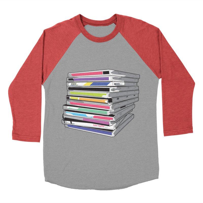 Cd Collection JQBX Men's Baseball Triblend Longsleeve T-Shirt by JQBX Store - Listen Together