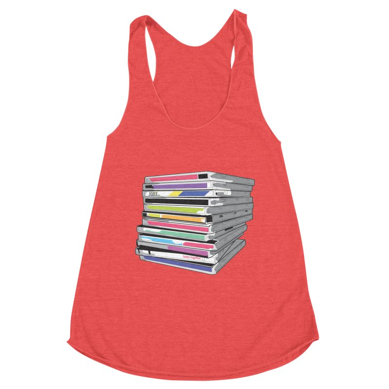 Cd Collection JQBX Women's Tank by JQBX Store - Listen Together