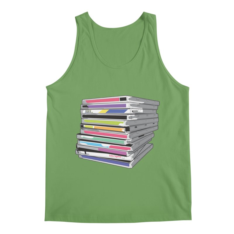 Cd Collection JQBX Men's Tank by JQBX Store - Listen Together
