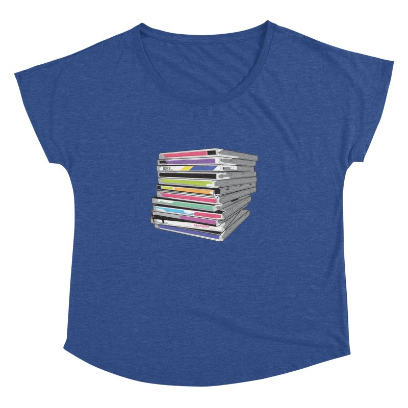 Cd Collection JQBX Women's Dolman Scoop Neck by JQBX Store - Listen Together