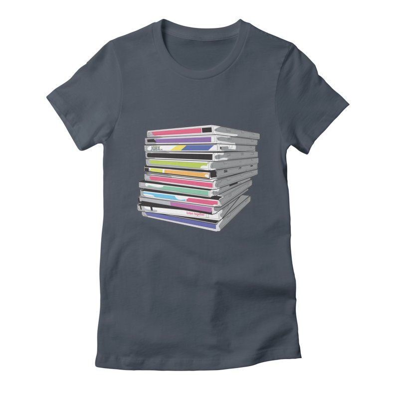 Cd Collection JQBX Women's T-Shirt by JQBX Store - Listen Together