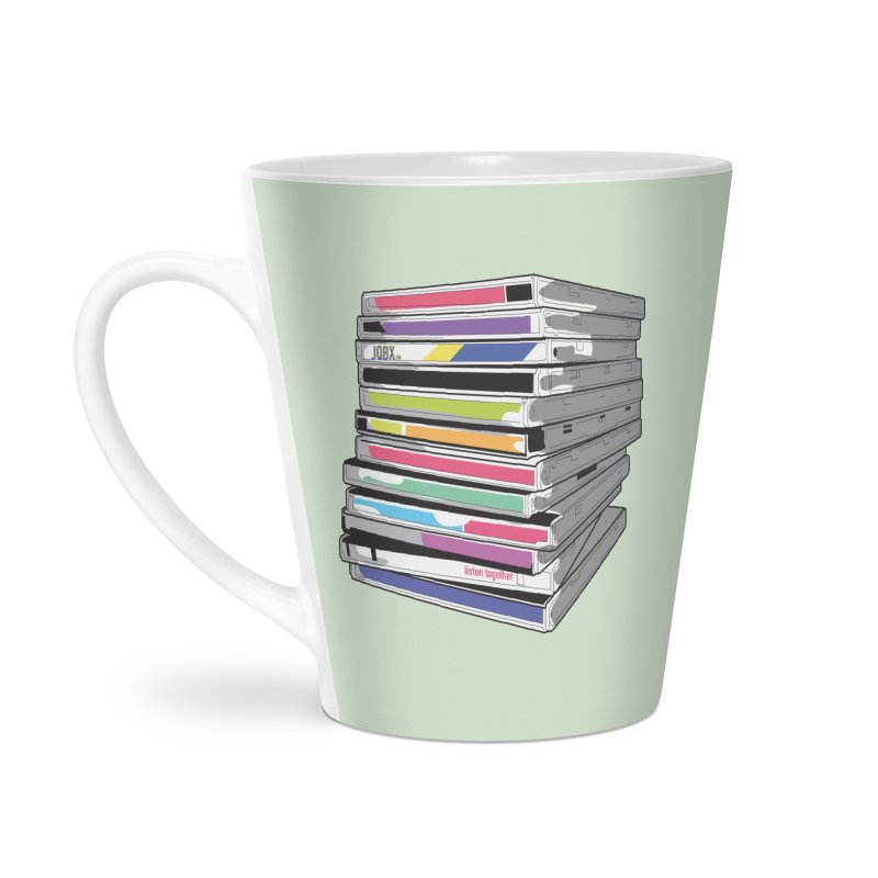 Cd Collection JQBX Accessories Mug by JQBX Store - Listen Together