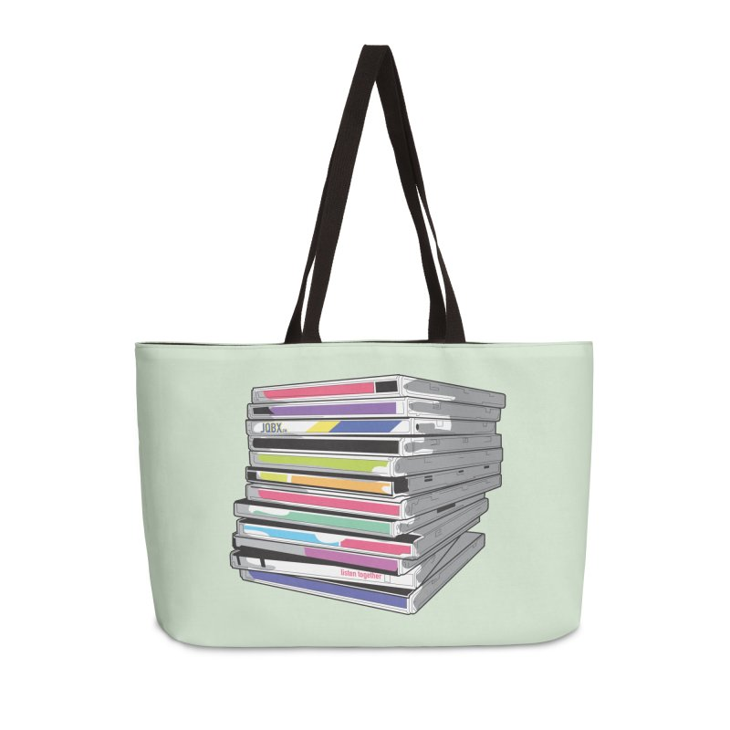 Cd Collection JQBX Accessories Weekender Bag Bag by JQBX Store - Listen Together