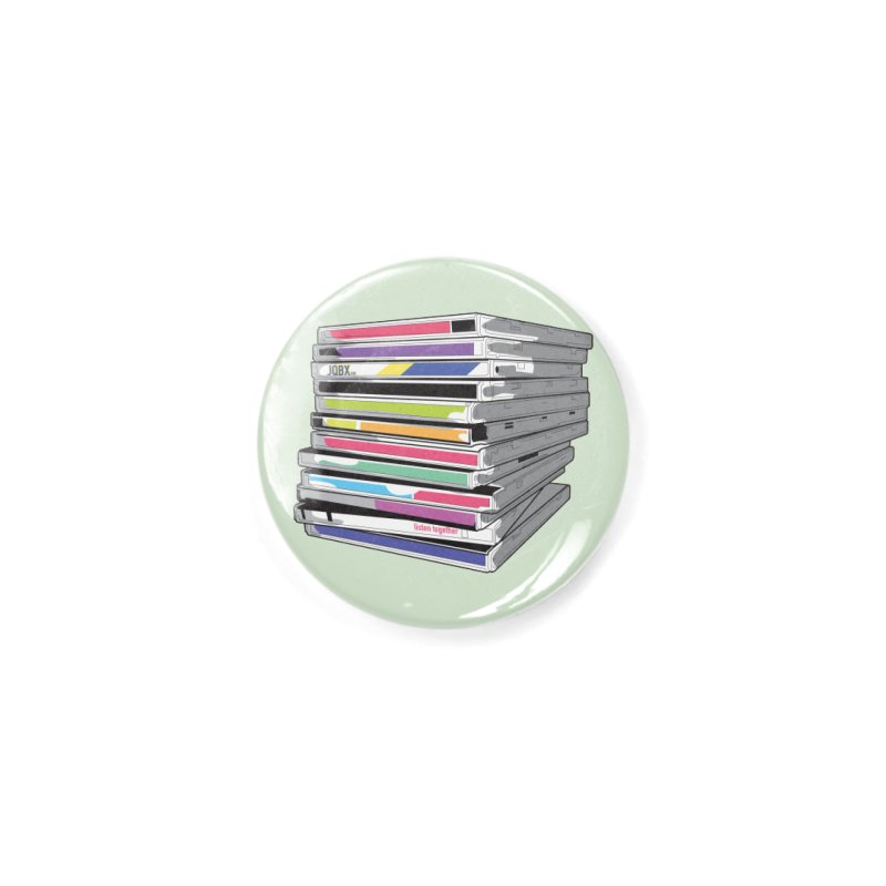Cd Collection JQBX Accessories Button by JQBX Store - Listen Together