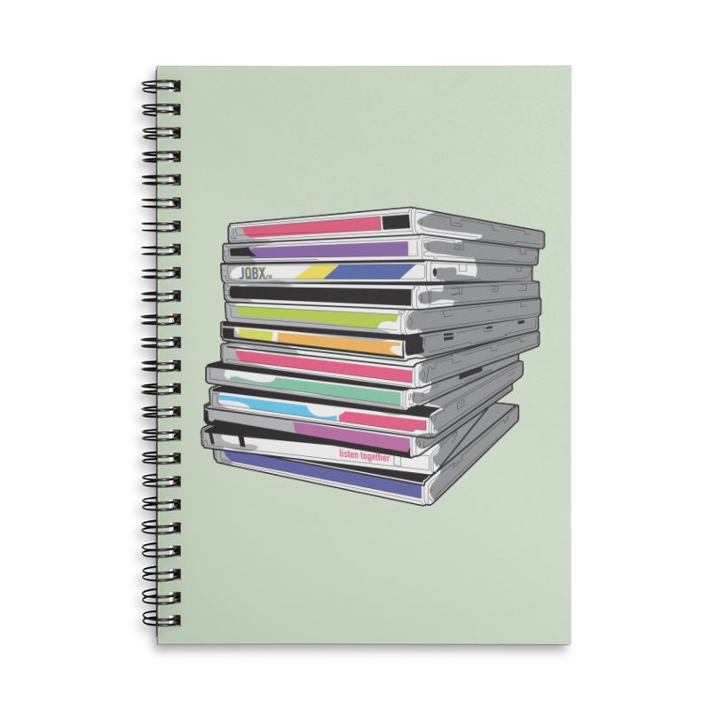 Cd Collection JQBX Accessories Notebook by JQBX Store - Listen Together