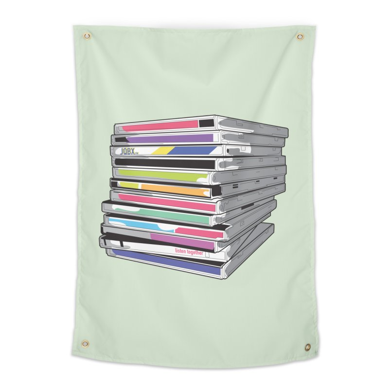 Cd Collection JQBX Home Tapestry by JQBX Store - Listen Together