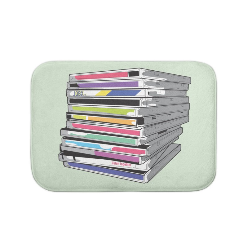Cd Collection JQBX Home Bath Mat by JQBX Store - Listen Together