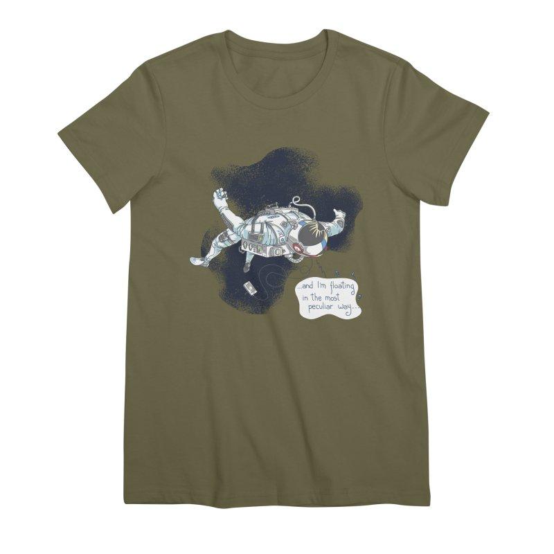 Dark Peculiar Oddity Women's Premium T-Shirt by JQBX Store - Listen Together