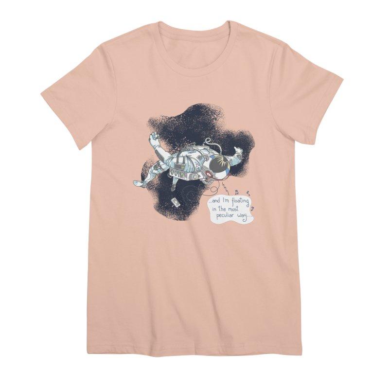 Dark Peculiar Oddity Women's T-Shirt by JQBX Store - Listen Together