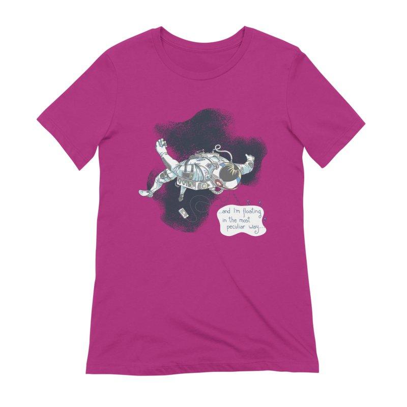 Dark Peculiar Oddity Women's Extra Soft T-Shirt by JQBX Store - Listen Together