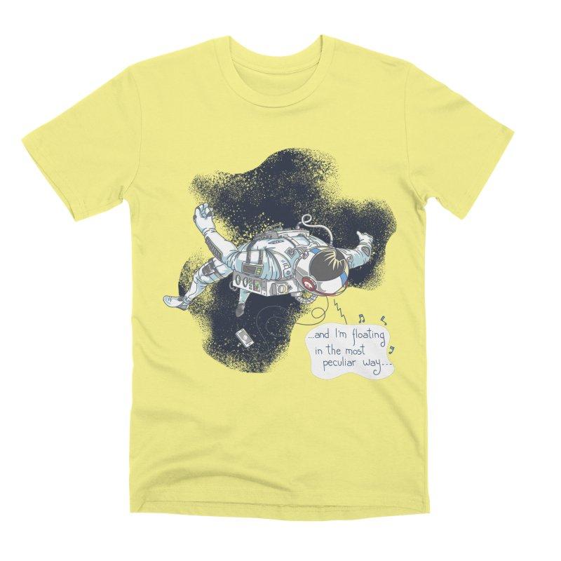 Dark Peculiar Oddity Men's Premium T-Shirt by JQBX Store - Listen Together