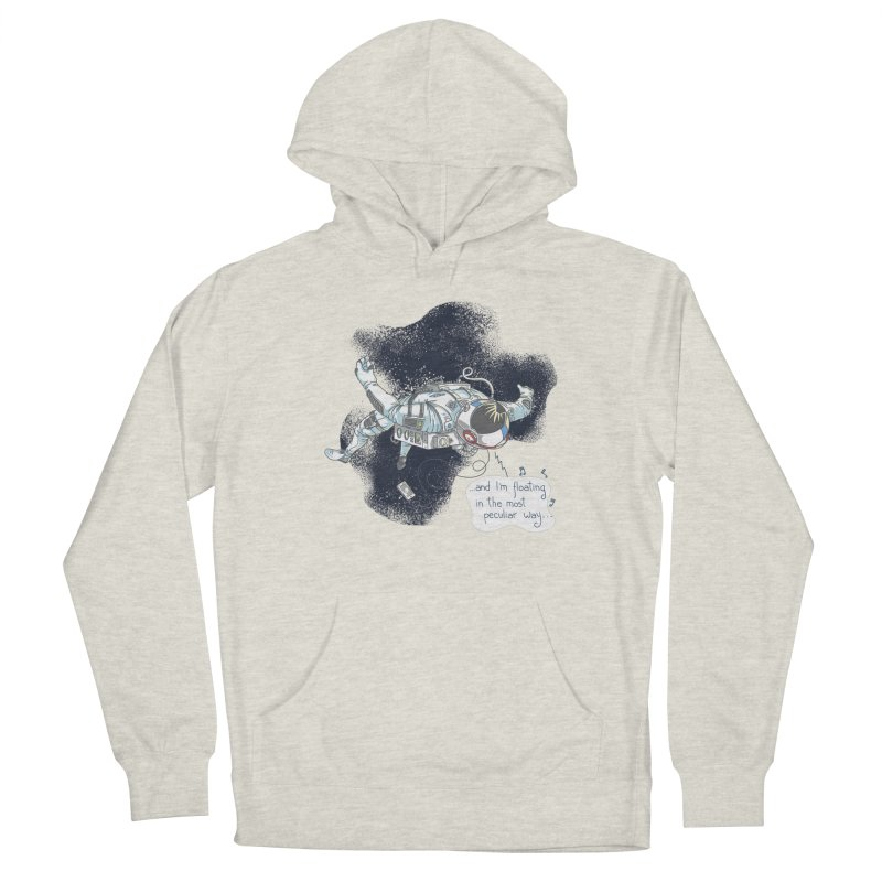 Dark Peculiar Oddity Men's Pullover Hoody by JQBX Store - Listen Together