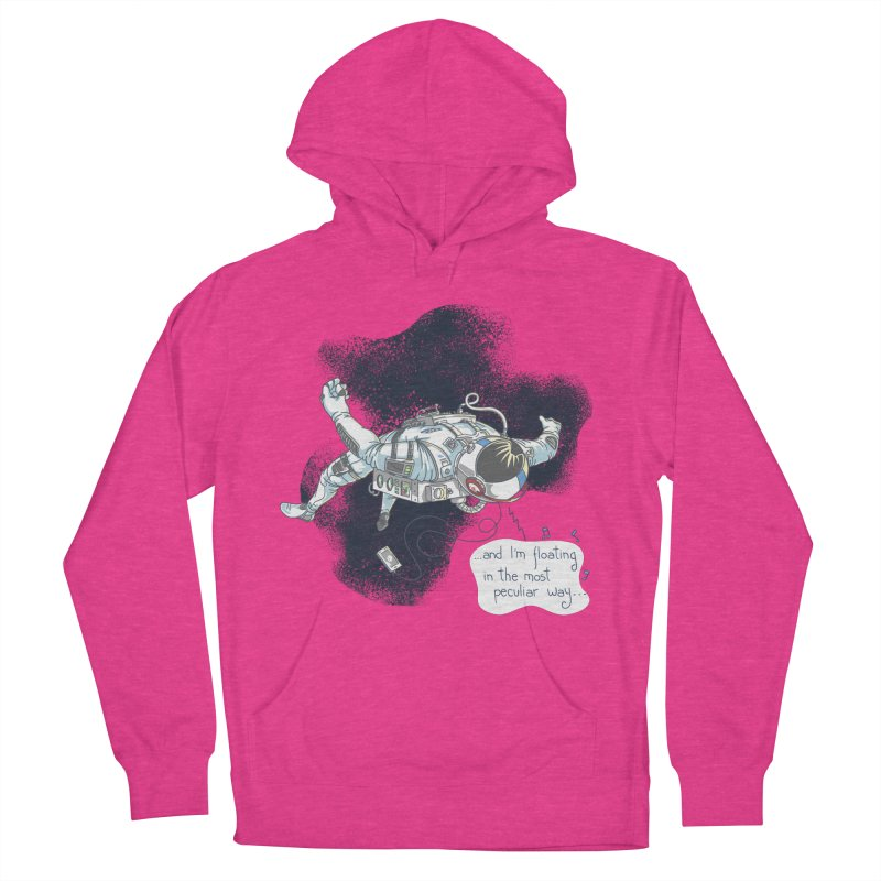 Dark Peculiar Oddity Women's French Terry Pullover Hoody by JQBX Store - Listen Together
