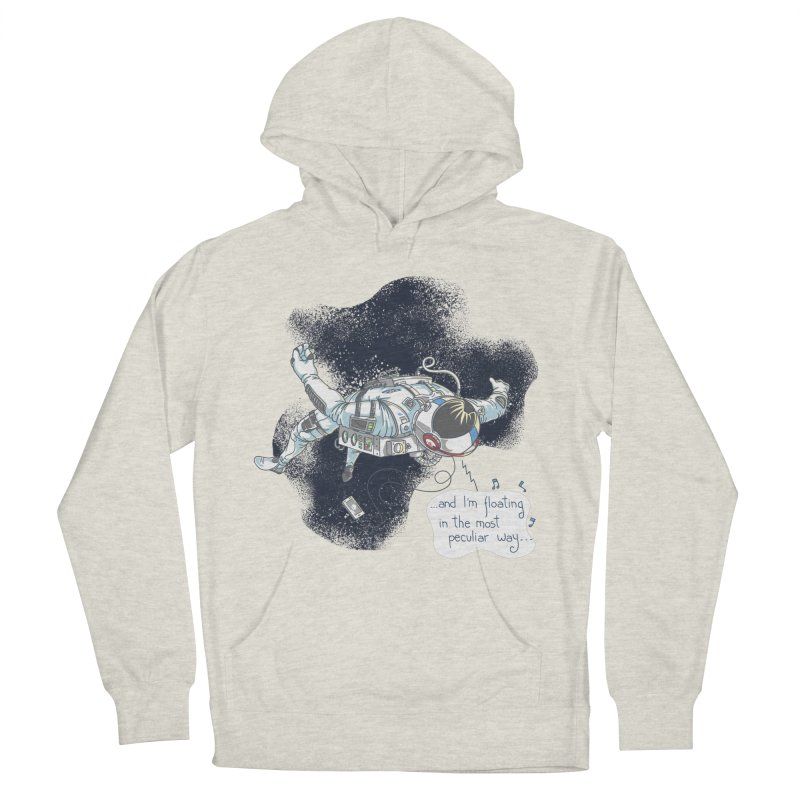 Dark Peculiar Oddity Men's French Terry Pullover Hoody by JQBX Store - Listen Together