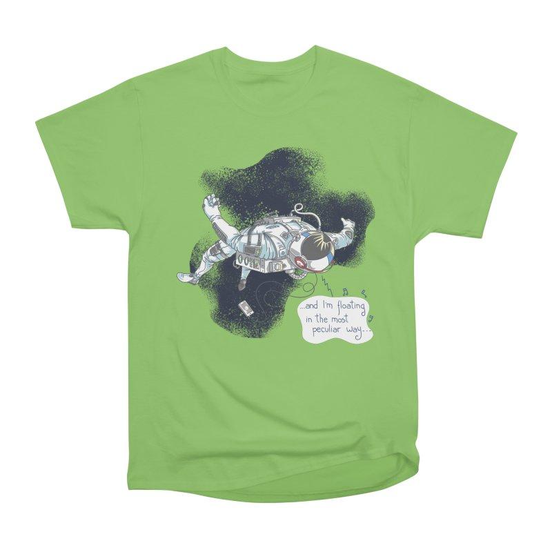 Dark Peculiar Oddity Women's Heavyweight Unisex T-Shirt by JQBX Store - Listen Together