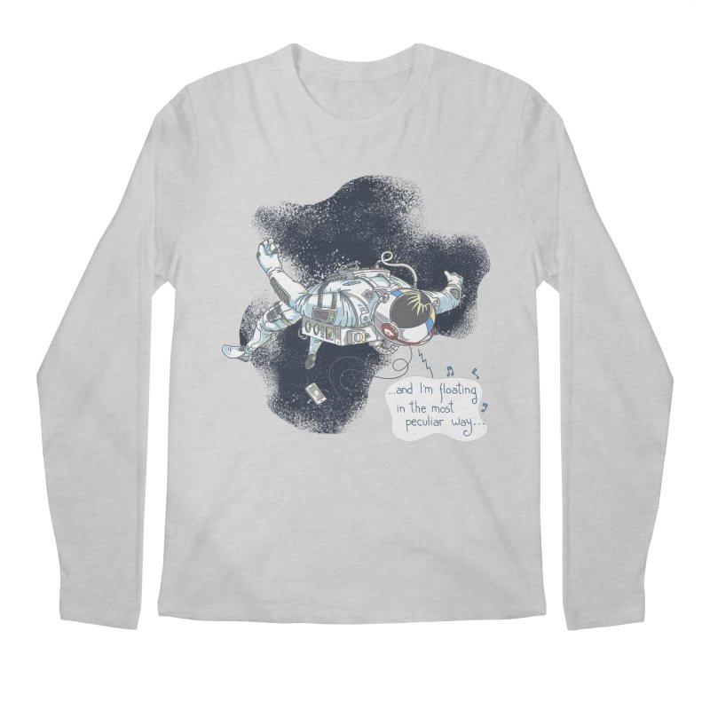 Dark Peculiar Oddity Men's Longsleeve T-Shirt by JQBX Store - Listen Together