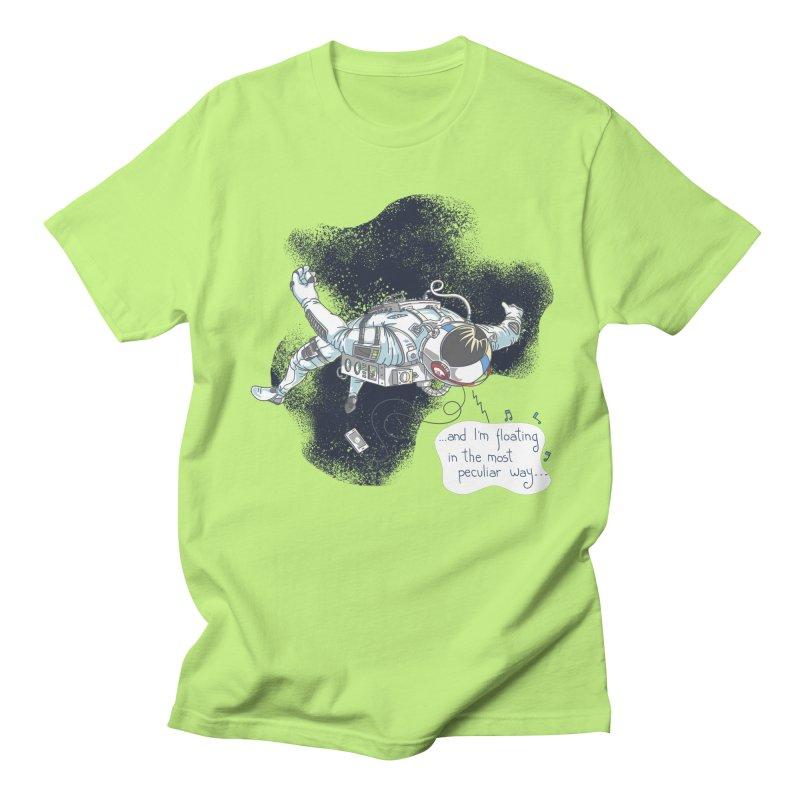 Dark Peculiar Oddity Men's Regular T-Shirt by JQBX Store - Listen Together