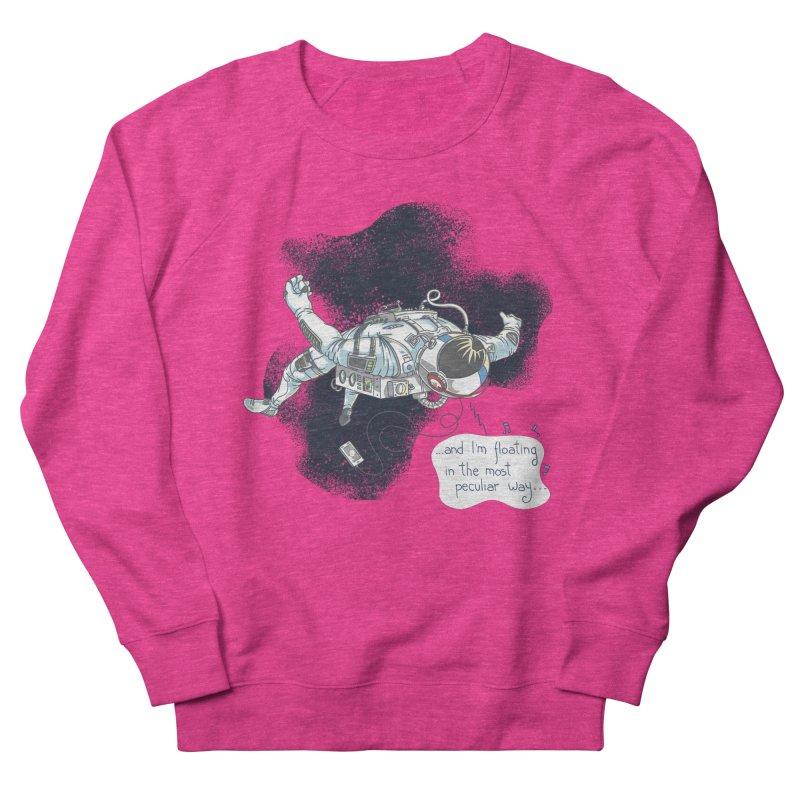 Dark Peculiar Oddity Women's French Terry Sweatshirt by JQBX Store - Listen Together
