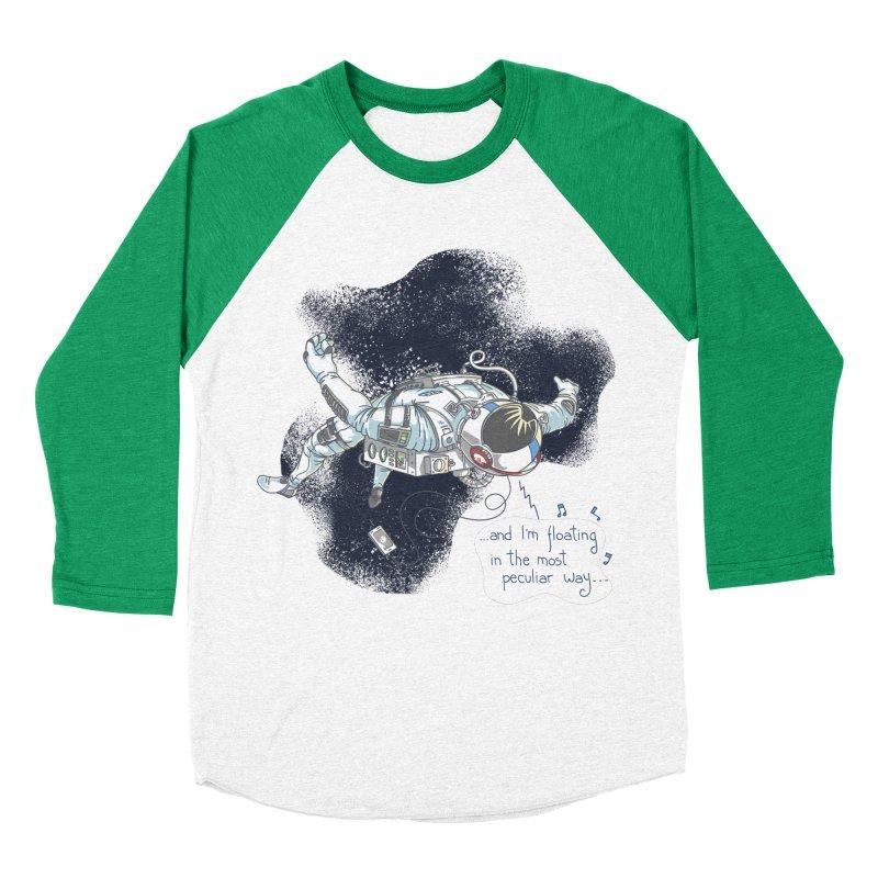 Dark Peculiar Oddity Men's Baseball Triblend Longsleeve T-Shirt by JQBX Store - Listen Together