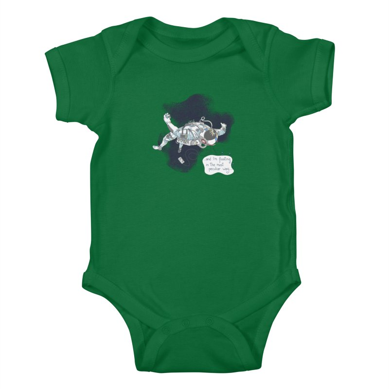 Dark Peculiar Oddity Kids Baby Bodysuit by JQBX Store - Listen Together