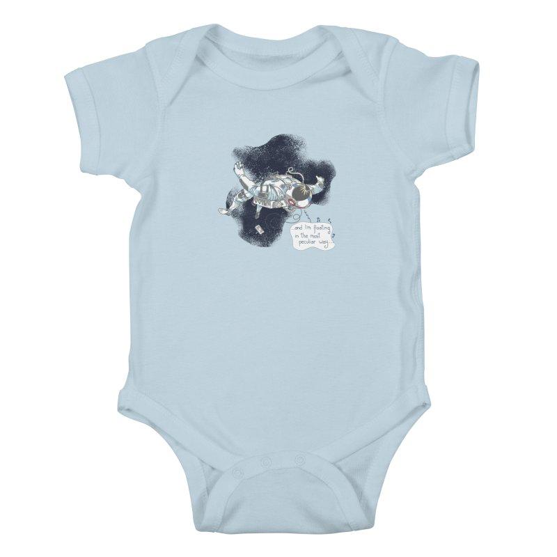 Dark Peculiar Oddity Kids Baby Bodysuit by JQBX Store - Listen Together