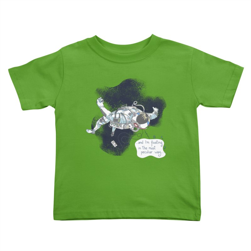 Dark Peculiar Oddity Kids Toddler T-Shirt by JQBX Store - Listen Together