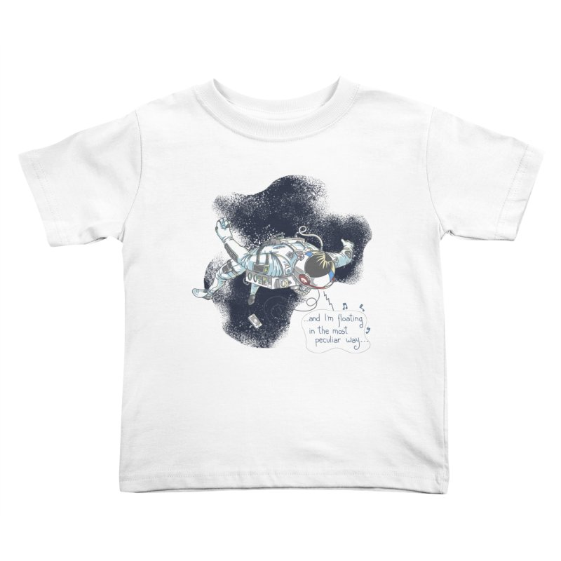Dark Peculiar Oddity Kids Toddler T-Shirt by JQBX Store - Listen Together