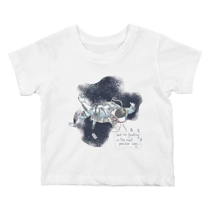 Dark Peculiar Oddity Kids Baby T-Shirt by JQBX Store - Listen Together