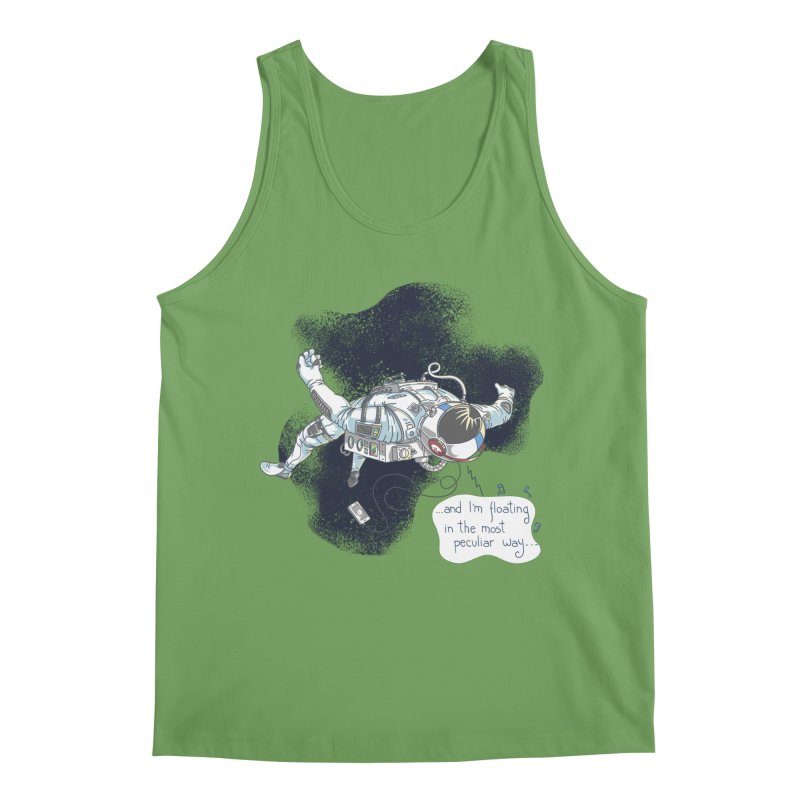 Dark Peculiar Oddity Men's Tank by JQBX Store - Listen Together