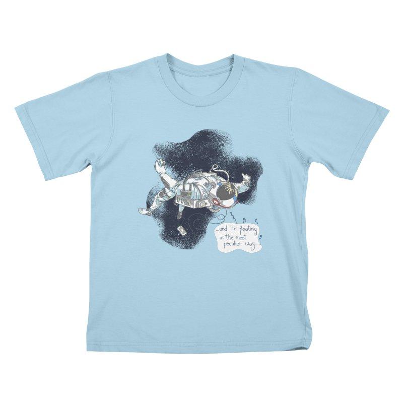 Dark Peculiar Oddity Kids T-Shirt by JQBX Store - Listen Together
