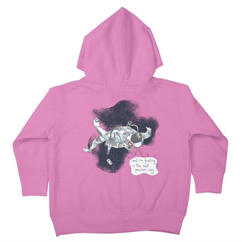 Dark Peculiar Oddity Kids Toddler Zip-Up Hoody by JQBX Store - Listen Together