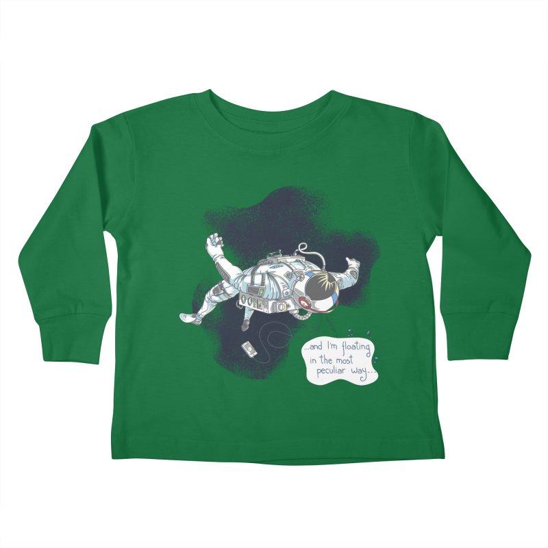 Dark Peculiar Oddity Kids Toddler Longsleeve T-Shirt by JQBX Store - Listen Together