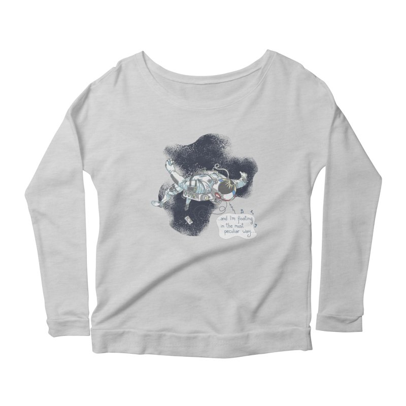 Dark Peculiar Oddity Women's Longsleeve T-Shirt by JQBX Store - Listen Together
