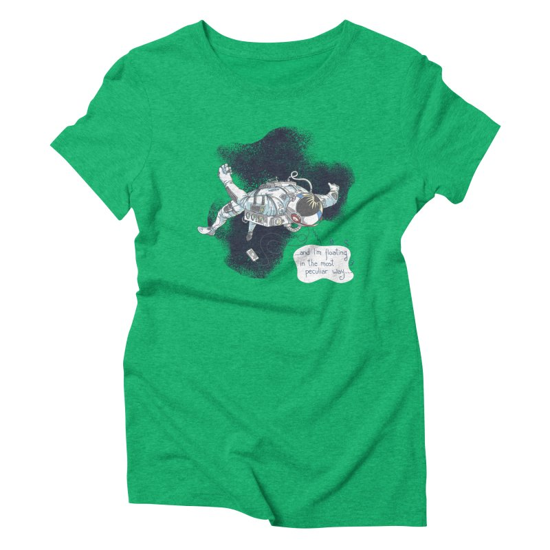 Dark Peculiar Oddity Women's Triblend T-Shirt by JQBX Store - Listen Together