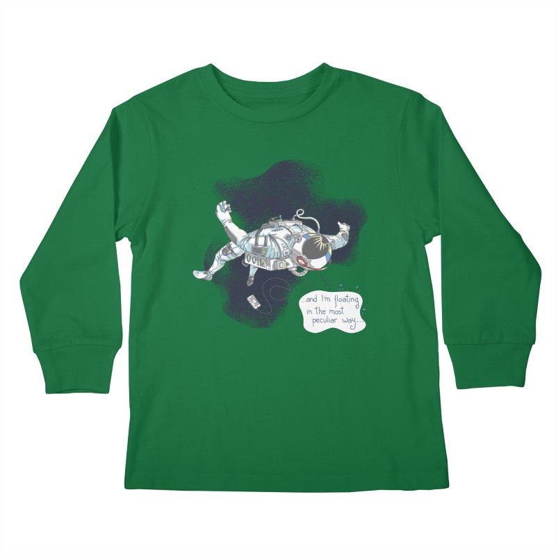 Dark Peculiar Oddity Kids Longsleeve T-Shirt by JQBX Store - Listen Together
